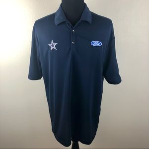 Nike Golf Dri-Fit Dallas Cowboys Polo Shirt XL